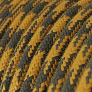cavo-elettrico-rotondo-rivestito-in-cotone-bicolore-miele-dorato-e-antracite-rp27